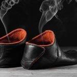 Schuhgeruch in Hausschuhen vermeiden